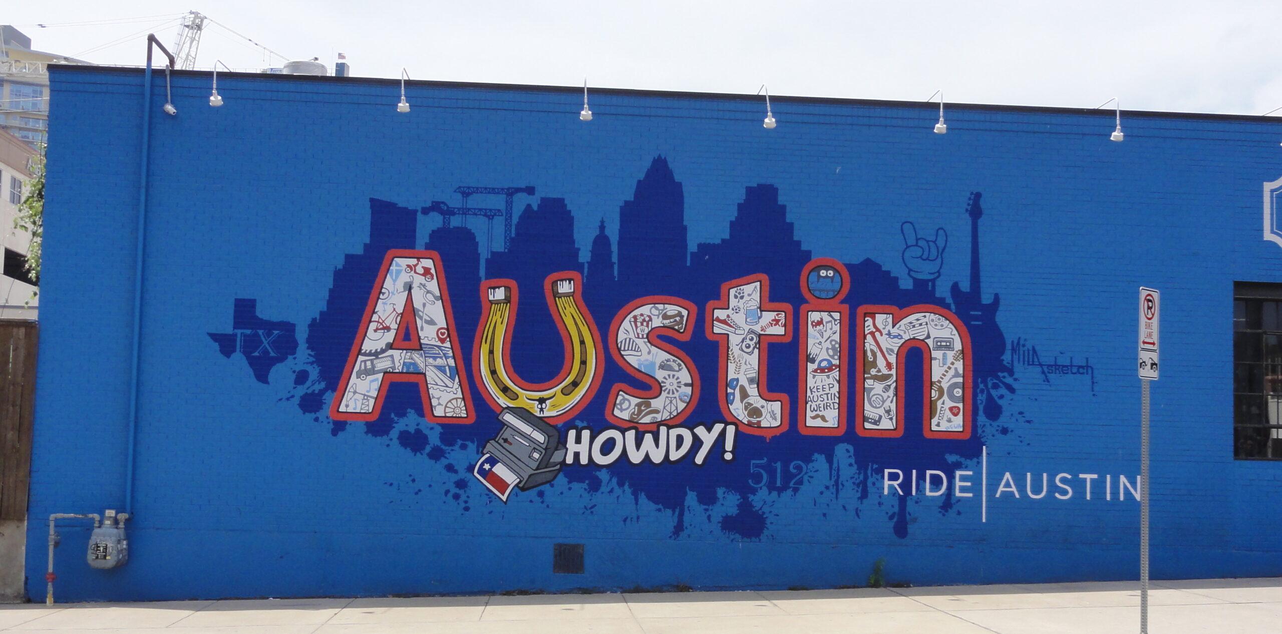 Howdy Mural