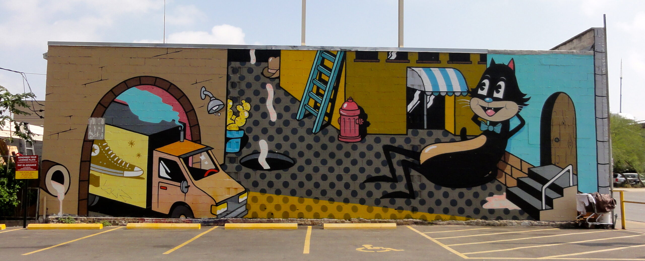 6th & 35 mural