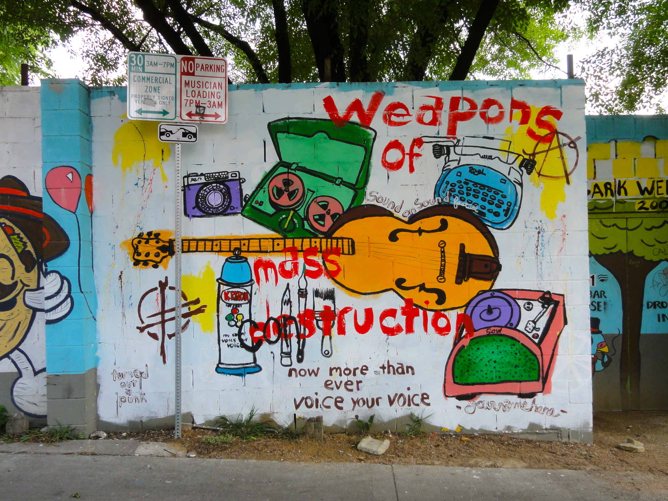 Weapons of Destruction Mural