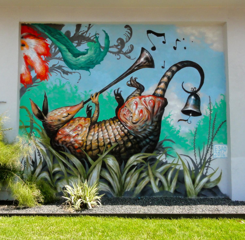 Armadillo Mural