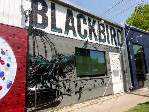 Blackbird Mural