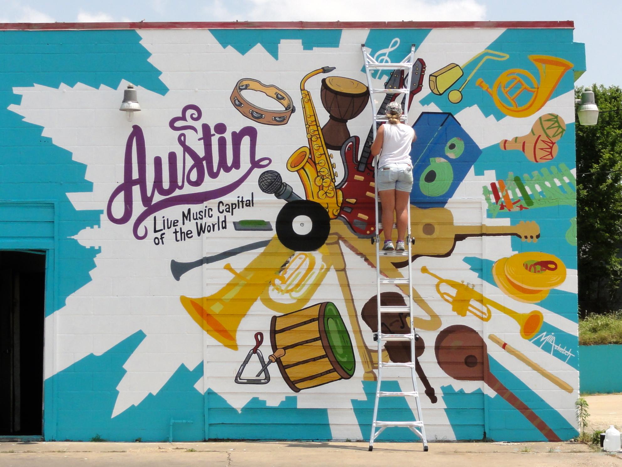 Music Capital Mural
