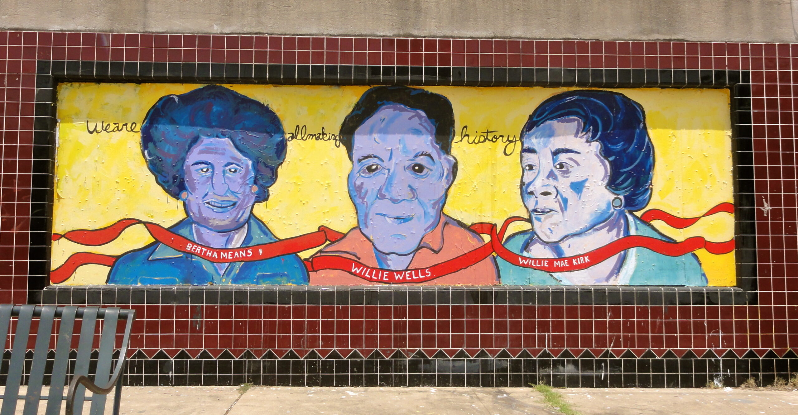 Black Women Heroes Mural