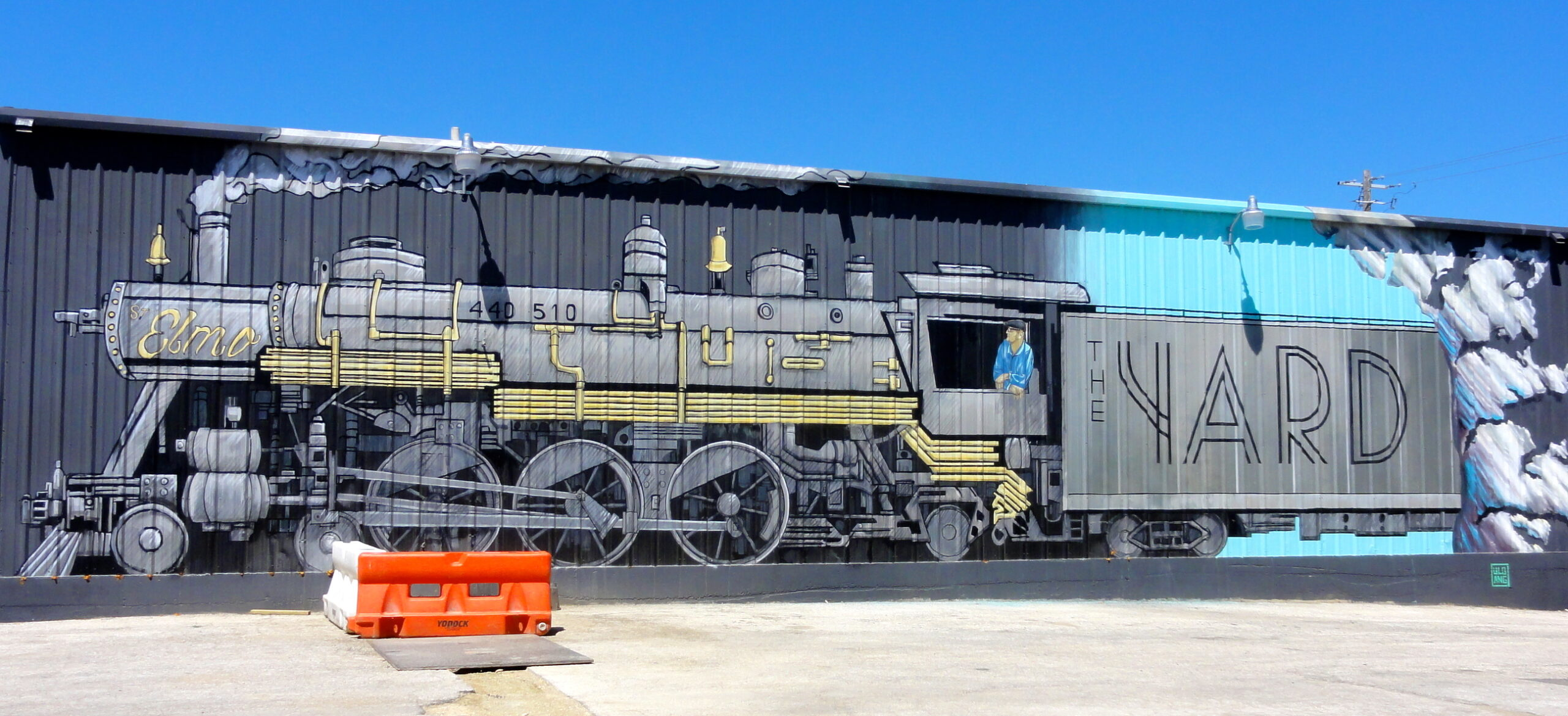 Locomotive Mural