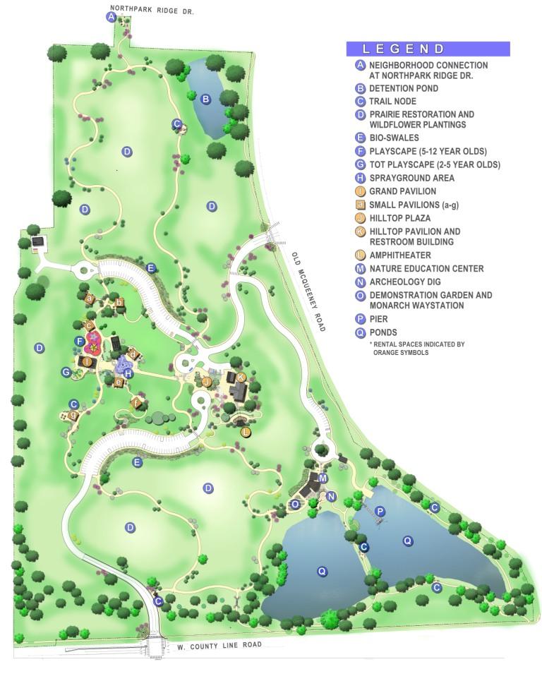 Fischer Park Map