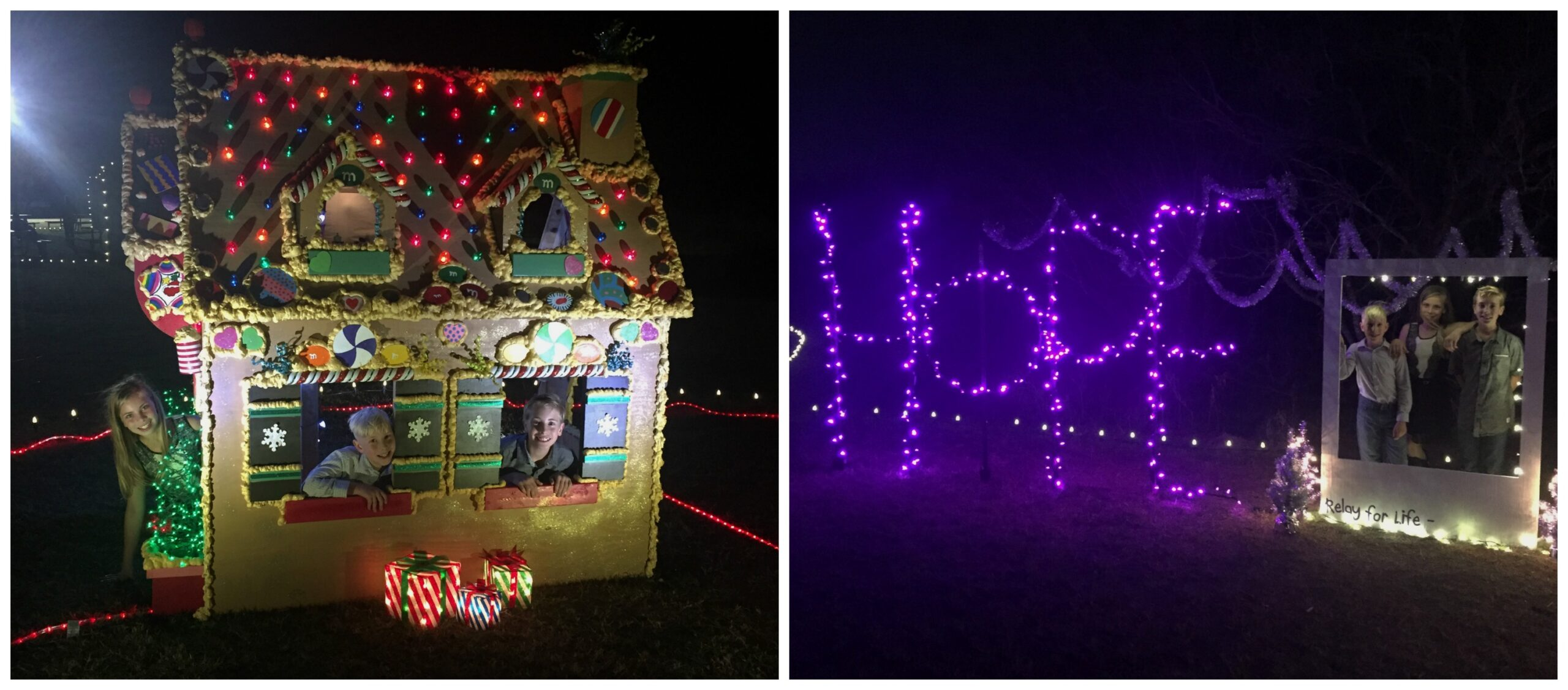 Buda Trail of Lights Gingerbread House