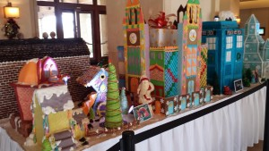 Gingerbread Storytime Village at the JW Marriott in San Antonio