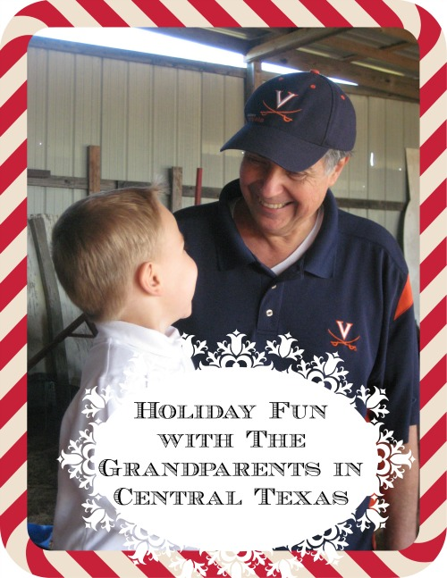 Holiday grandparent fun