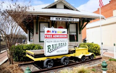 Kids Fun Day at New Braunfels Railroad Museum