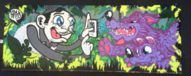 Murals, street art, graffiti in Austin Texas