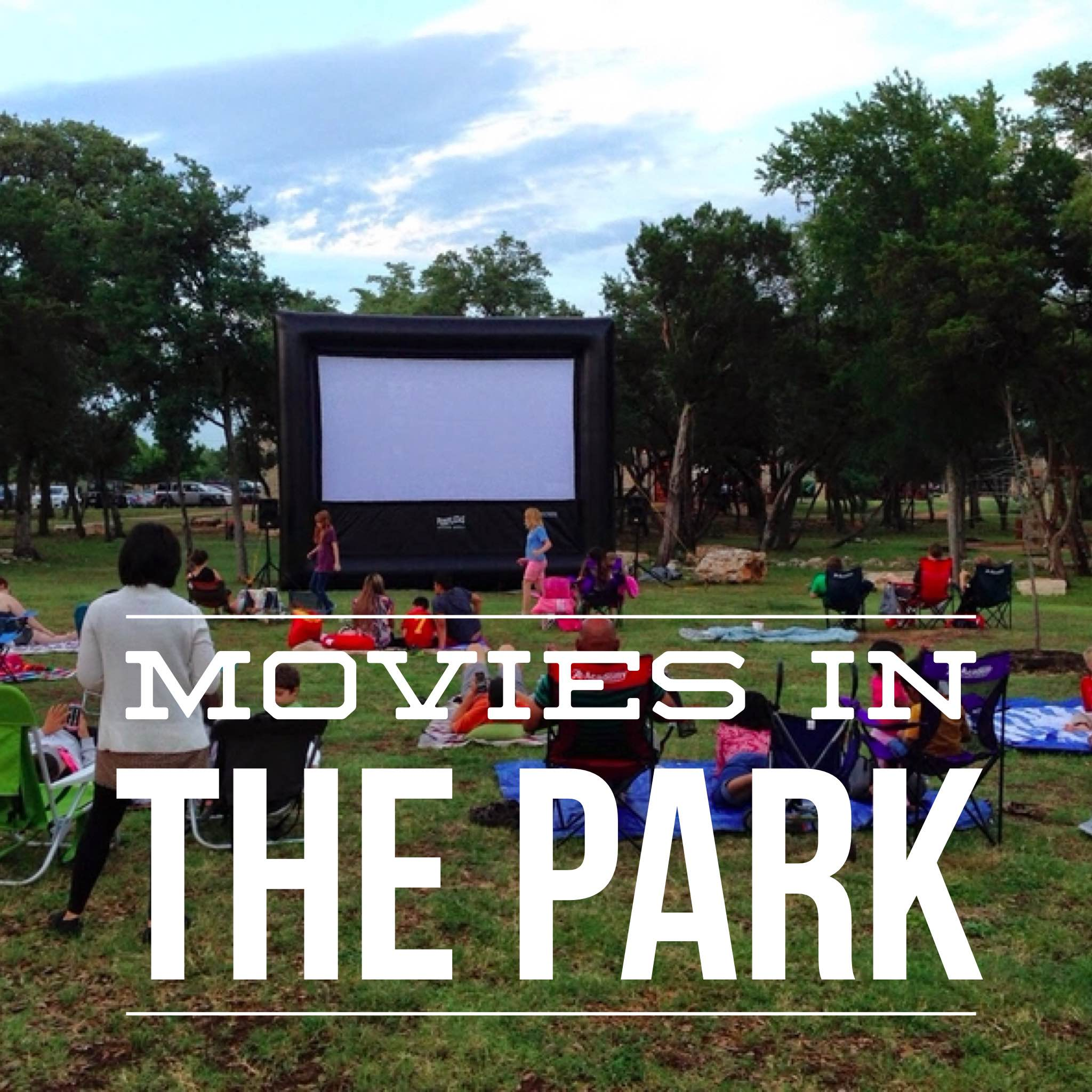 Free Movies Park Outdoors Austin