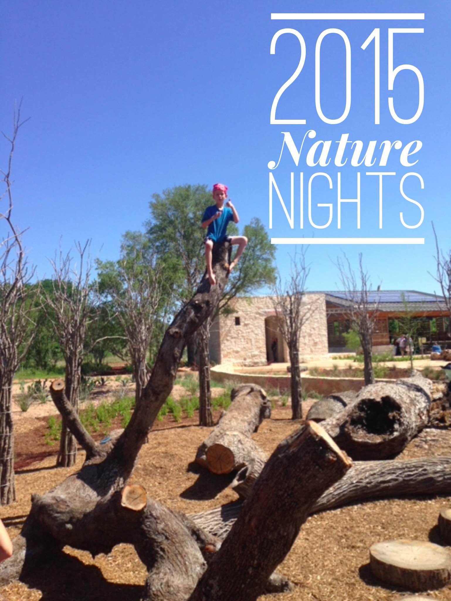 Nature Nights Wildflower Center