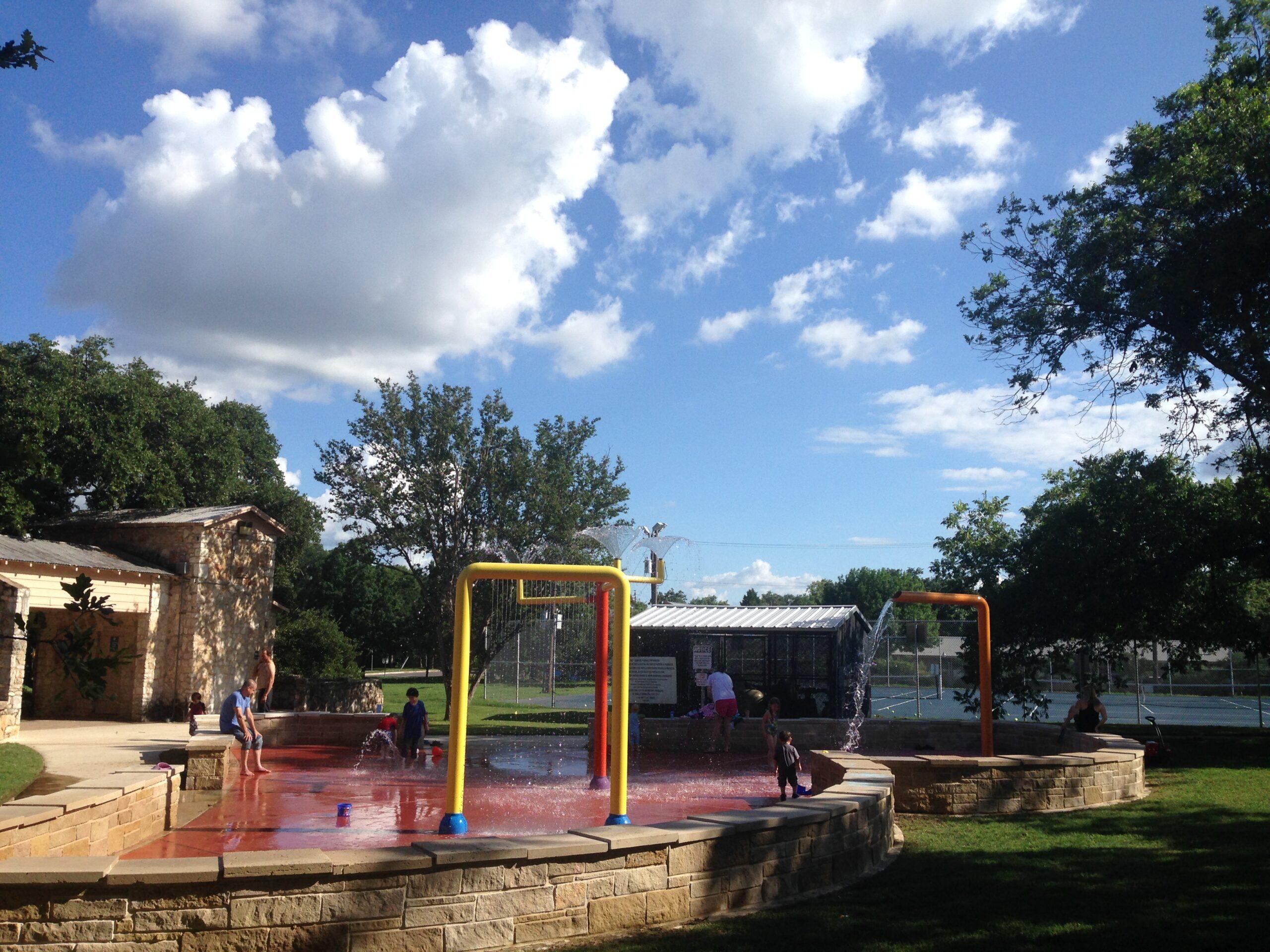 Bailey Park Splash Pad in Austin, Texas