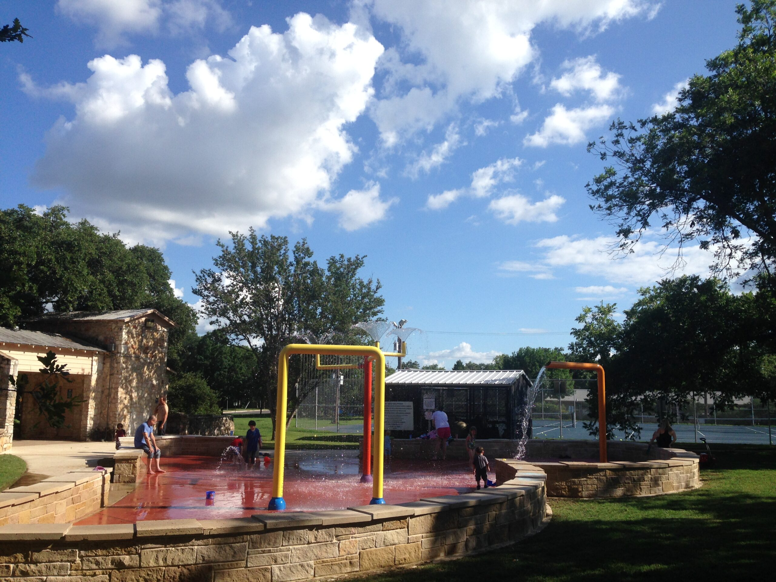 Bailey Park Splash Pad in Austin, Texas