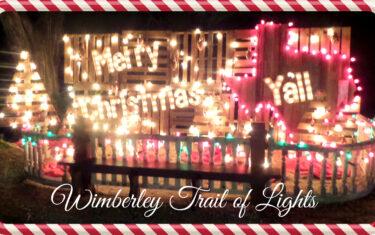 EmilyAnn Theatre and Gardens Trail of Lights in Wimberley