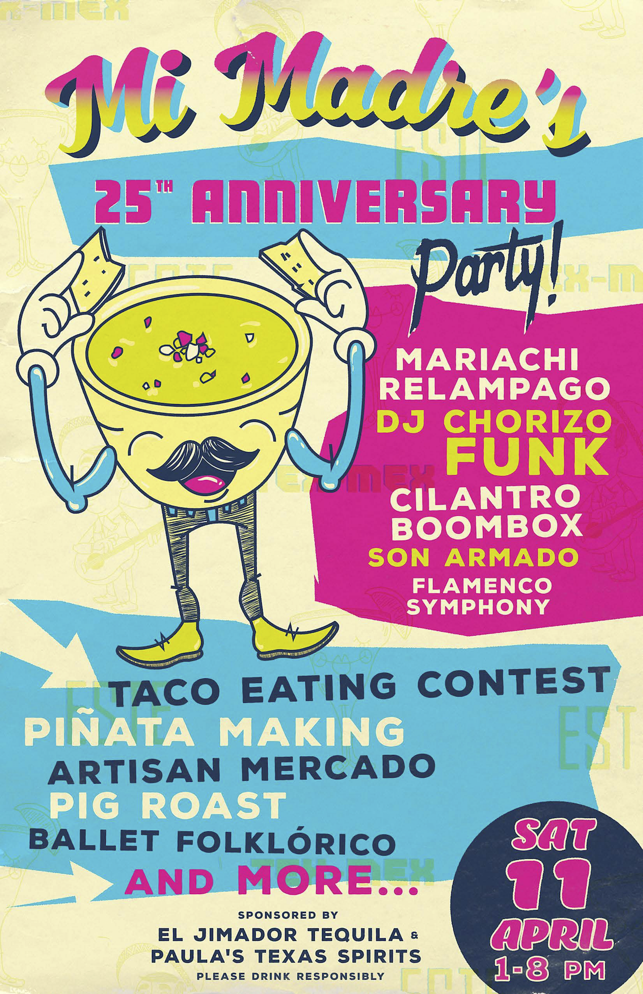 Mi Madres 25th Anniversary Poster Final