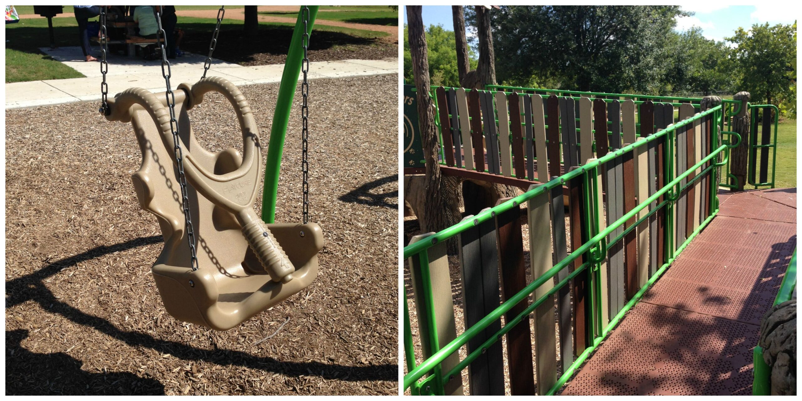 Wheelchair accessible playground Austin Texas