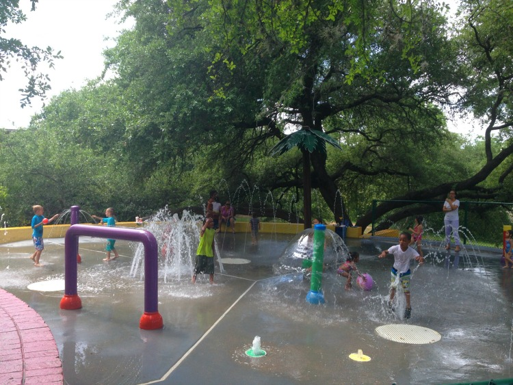 Ricky Guerrero Splash Pad in Austin Texas