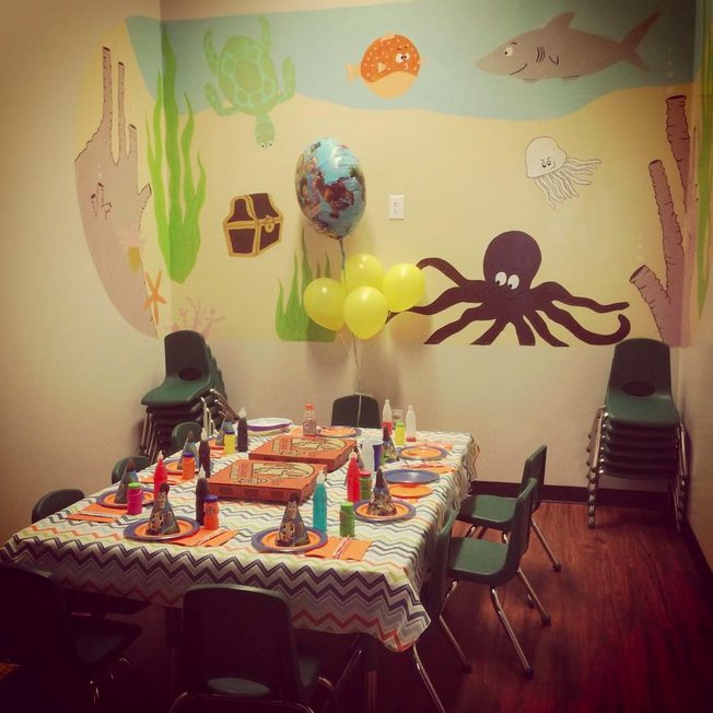 Little Land Play Gym Birthday Party
