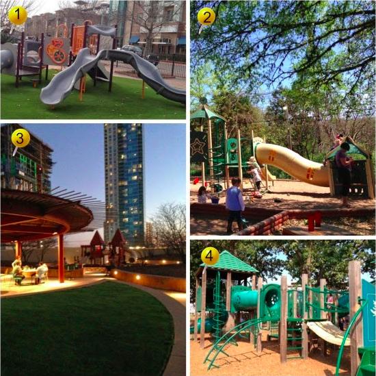 Restaurants Playgrounds Central Austin