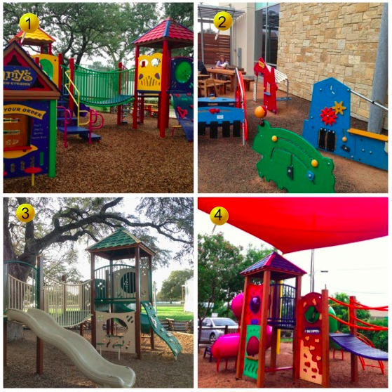 Restaurants Playgrounds North Austin