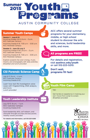 Austin Summer Free Camps