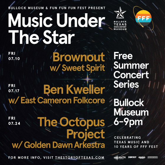 Music Under the Star at the Bullock Museum
