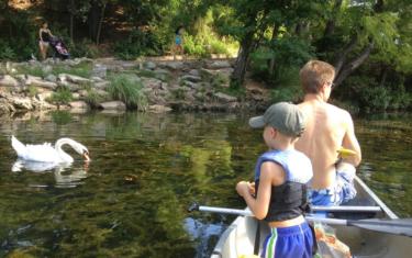 Kayak or Canoe Lady Bird Lake