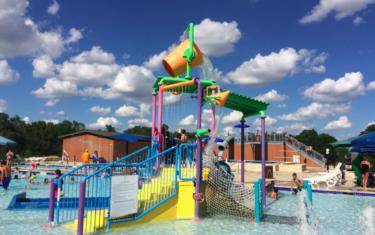 Veterans Memorial Pool in Cedar Park