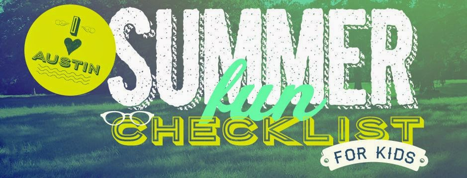 Austin Summer Fun Checklist