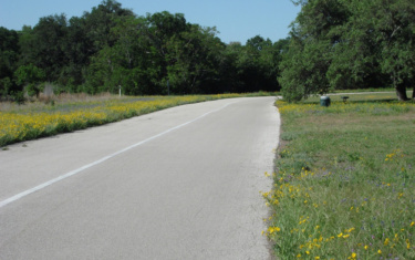 Bike Riding on The Veloway in Circle C Area of South Austin