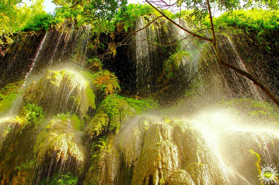 Gorman Falls in Colorado Bend State Park