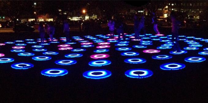 SXSW Eco Light Garden