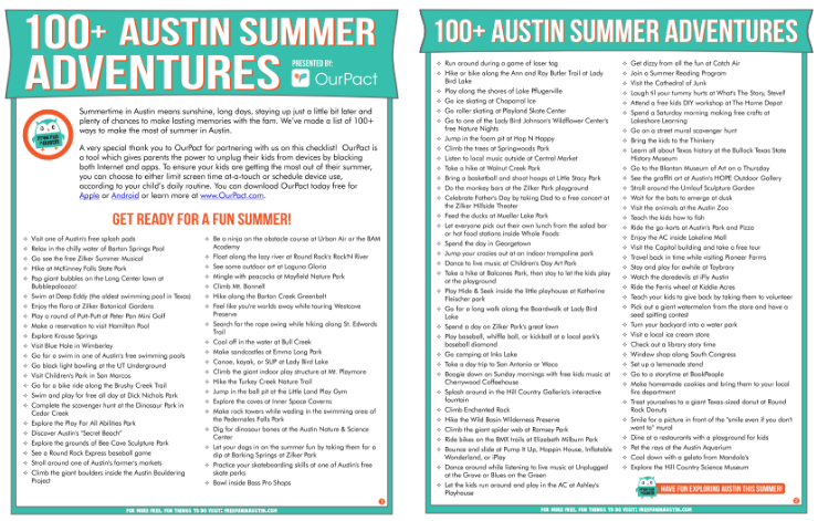 Free Things to do in Austin with Kids