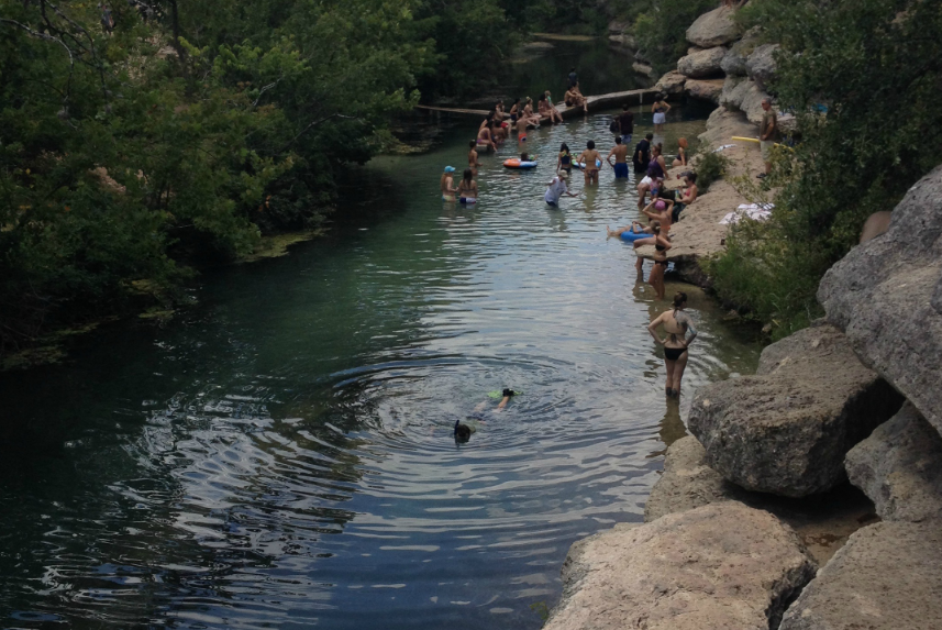 Jacob's Well in Wimberley
