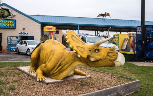 Here's Where To Take Your Kids To See Dinosaurs in Austin