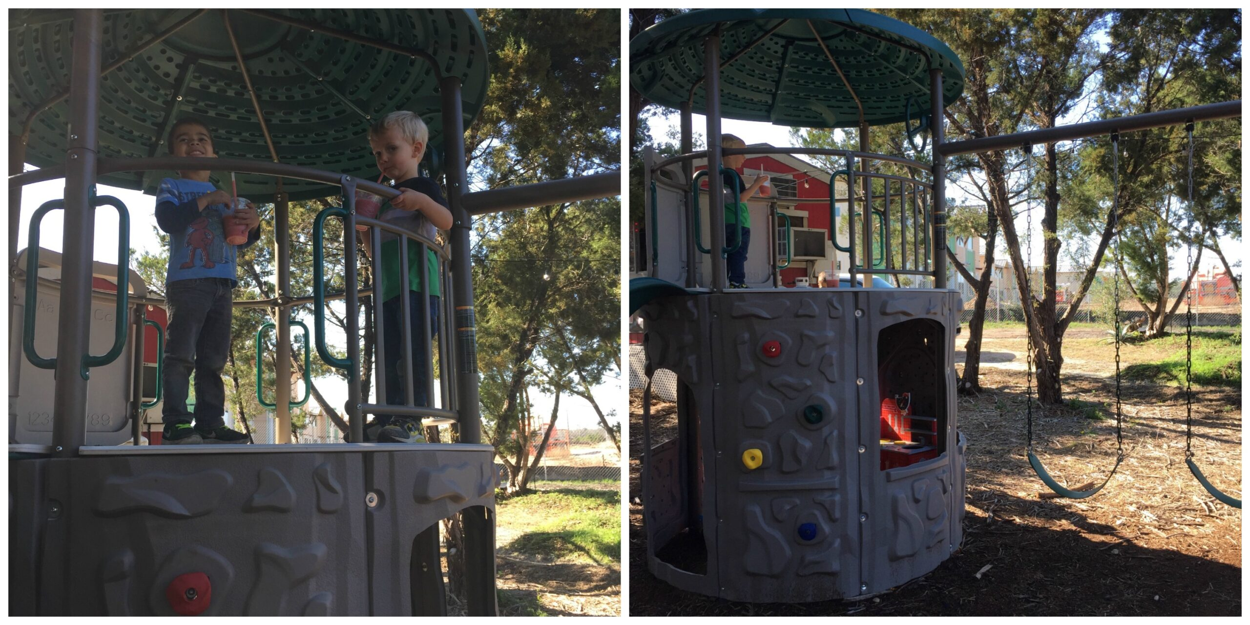 Another fun playscape at The Thicket | Free Fun in Austin