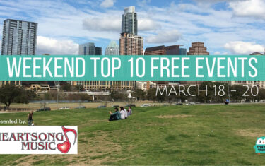 Top 10 FREE Weekend Events (March 18-20, 2016)