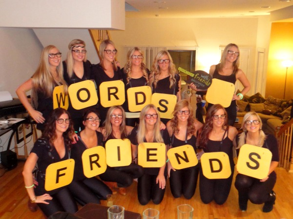 Words with friends costume