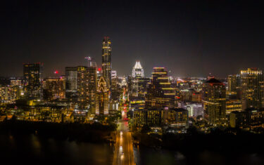 Austin Skyline Turns Yellow In Honor Of Hometown Star Kendra Scott