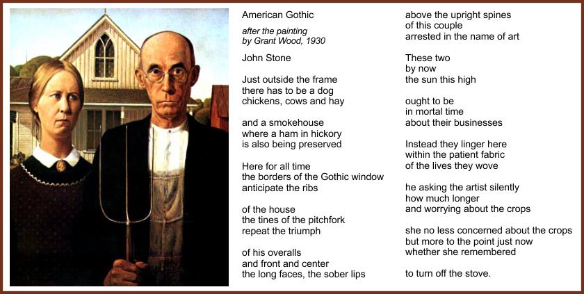 Ekphrastic Poem American Gothic