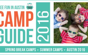 2016 Austin Summer Camp Guide