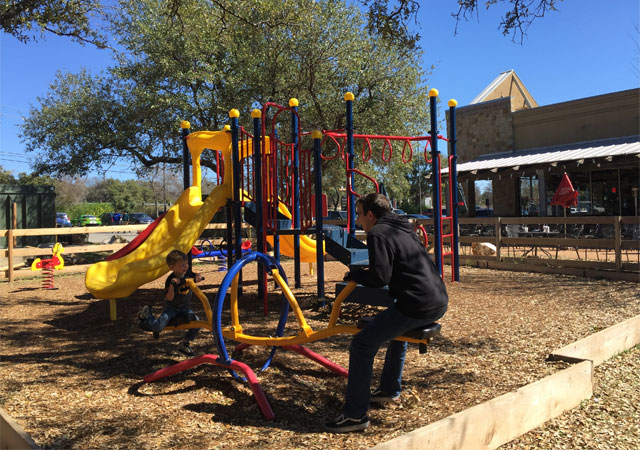 Silver Grill Cafe Playground - Free Fun in Austin