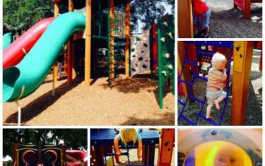 Fun and Sun at the Southpark Meadows Playground