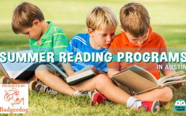 2016 Summer Reading Programs in Austin
