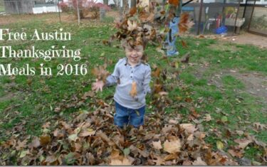 Free Thanksgiving Meals In Austin 2016