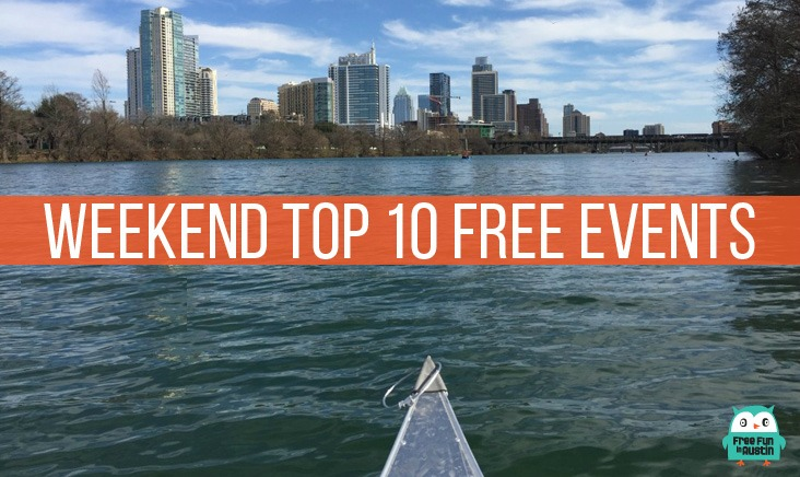 Weekend Top 10 Free Events in Austin