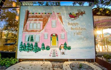 You'll Find The Perfect Spot For Your Family Christmas Pictures On Austin's South Congress Avenue