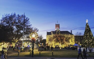 Wish you could visit the Gilmore Girls town of Stars Hollow? New Braunfels Is The Next Best Thing