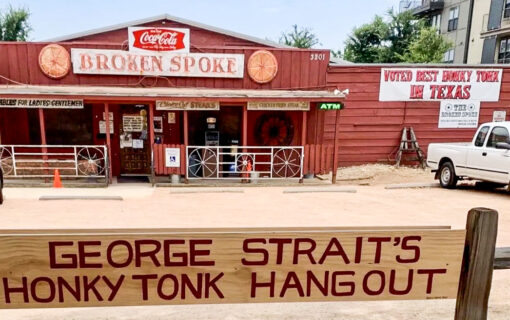 A Visit To The Broken Spoke Is The Most So Austin Way to Pay Tribute to James White